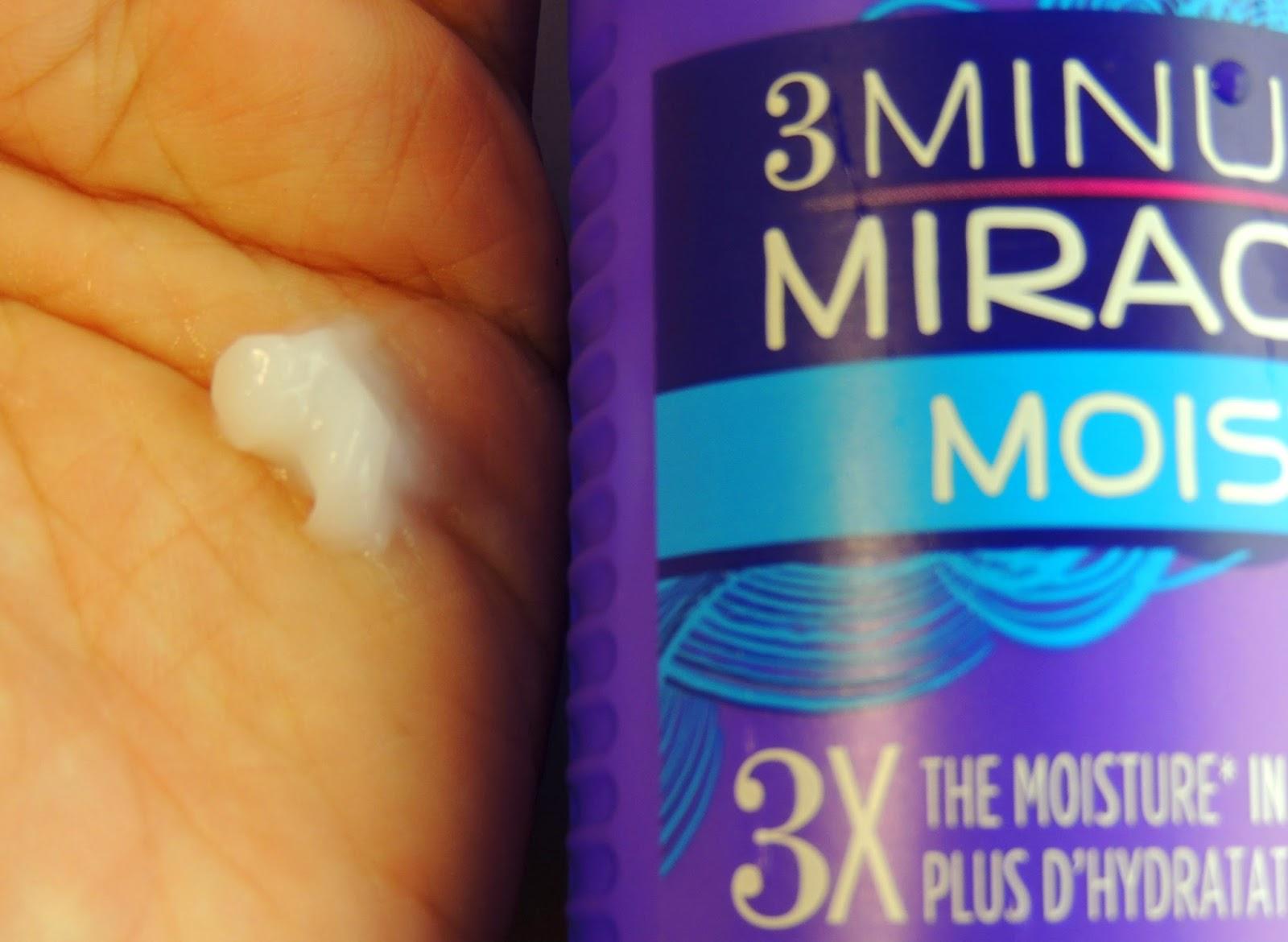 Resenha: Condicionador Hidratante 3 Minute Miracle Moist -  Aussie