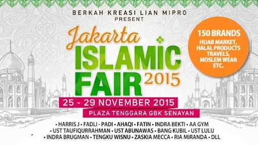 Jakarta Islamic Fair 2015 Segera Ramai Digelar