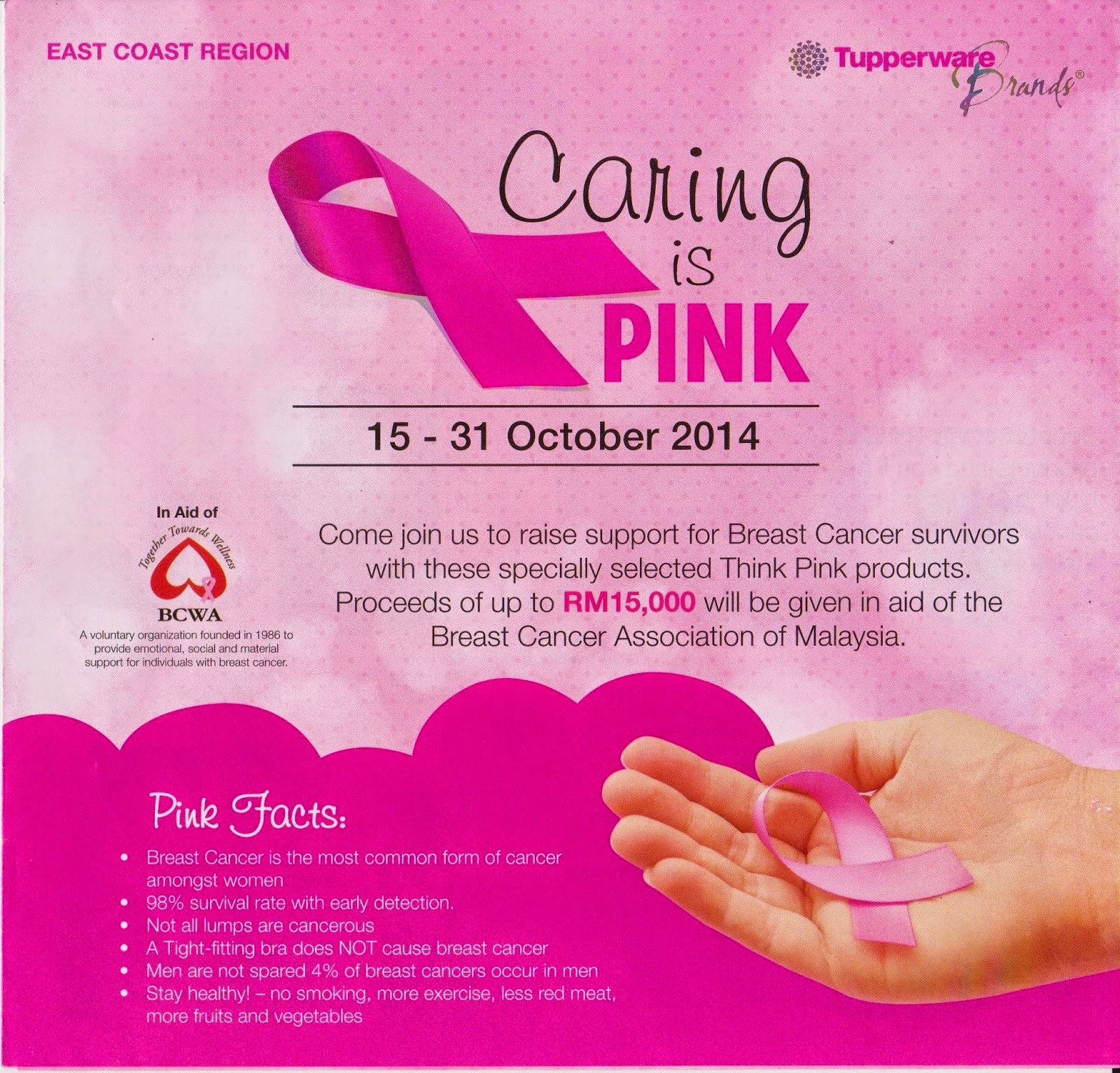 CaRiNg Is PiNk CaMpAiGn 15 31 OcToBeR 2014