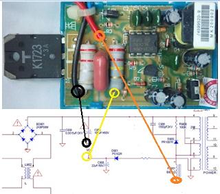 Cara memasang regulator GACUN/ ASTELO pada Tv dan Monitor LCD