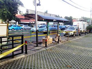 kecelakaan maut di Tugu Tani