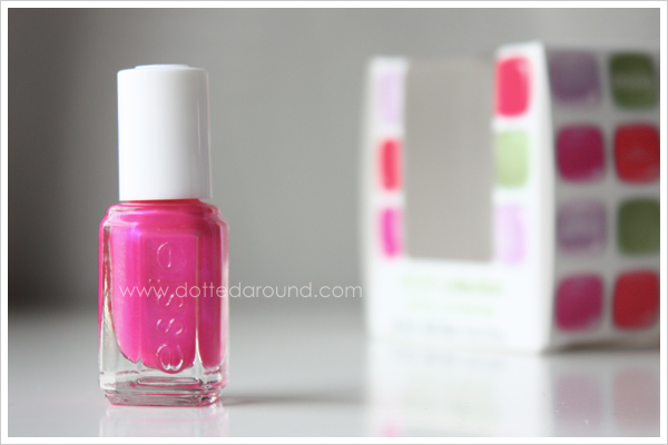 Essie Spring 2012 Tour de Finance nail polish