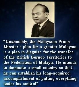 SARAWAK CHIEF MINISTER NINGKAN, 1965