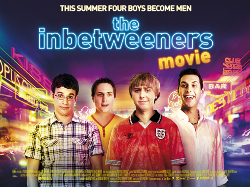 This Poster Includes All 4 Main Characters Showing Clearly Their Personalitys From Facial Expressions And What They Are Wearing The Background
