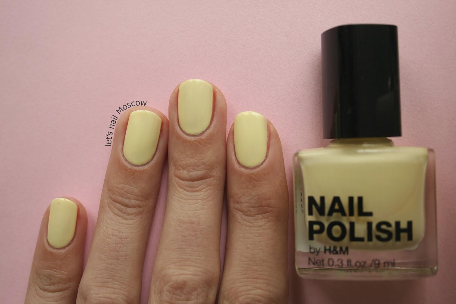 Фото ногти желтые с лунками