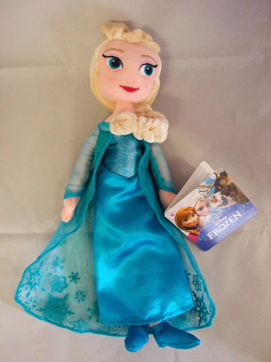 Peluche Disney Elsa de Frozen El Reino de Hielo