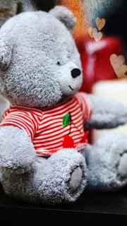 Wallpaper teddy bear lucu untuk android