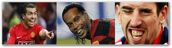 Según estudio: ¡los futbolistas 'feos' juegan más!