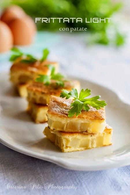 Frittata light con patate