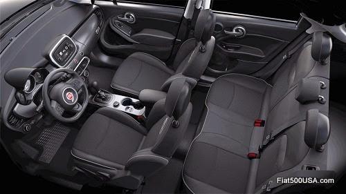 Fiat 500X Trekking Interior
