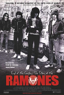 Portada del Documental: End of the Century: The Story of the Ramones