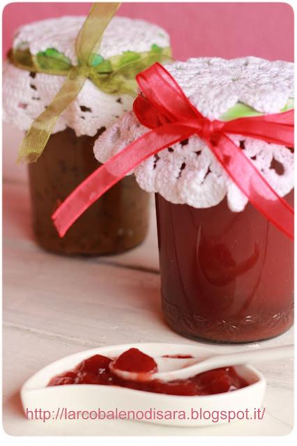 marmellata di fragole#marmellata di kiwi