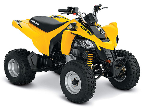 2013 Can-Am DS 250 ATV pictures. 480x360 pixels