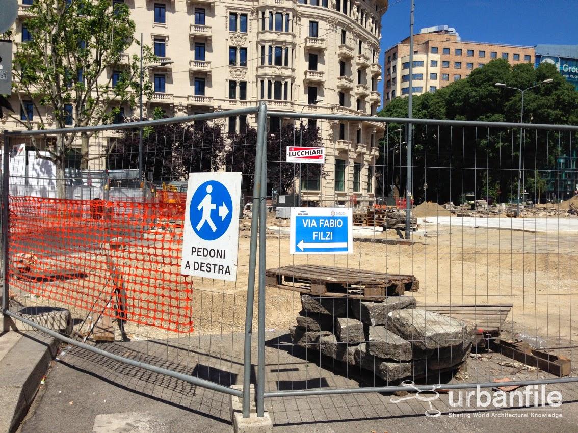 Urbanfile milano zona stazione centrale i lavori in for Arredare milano piazza iv novembre