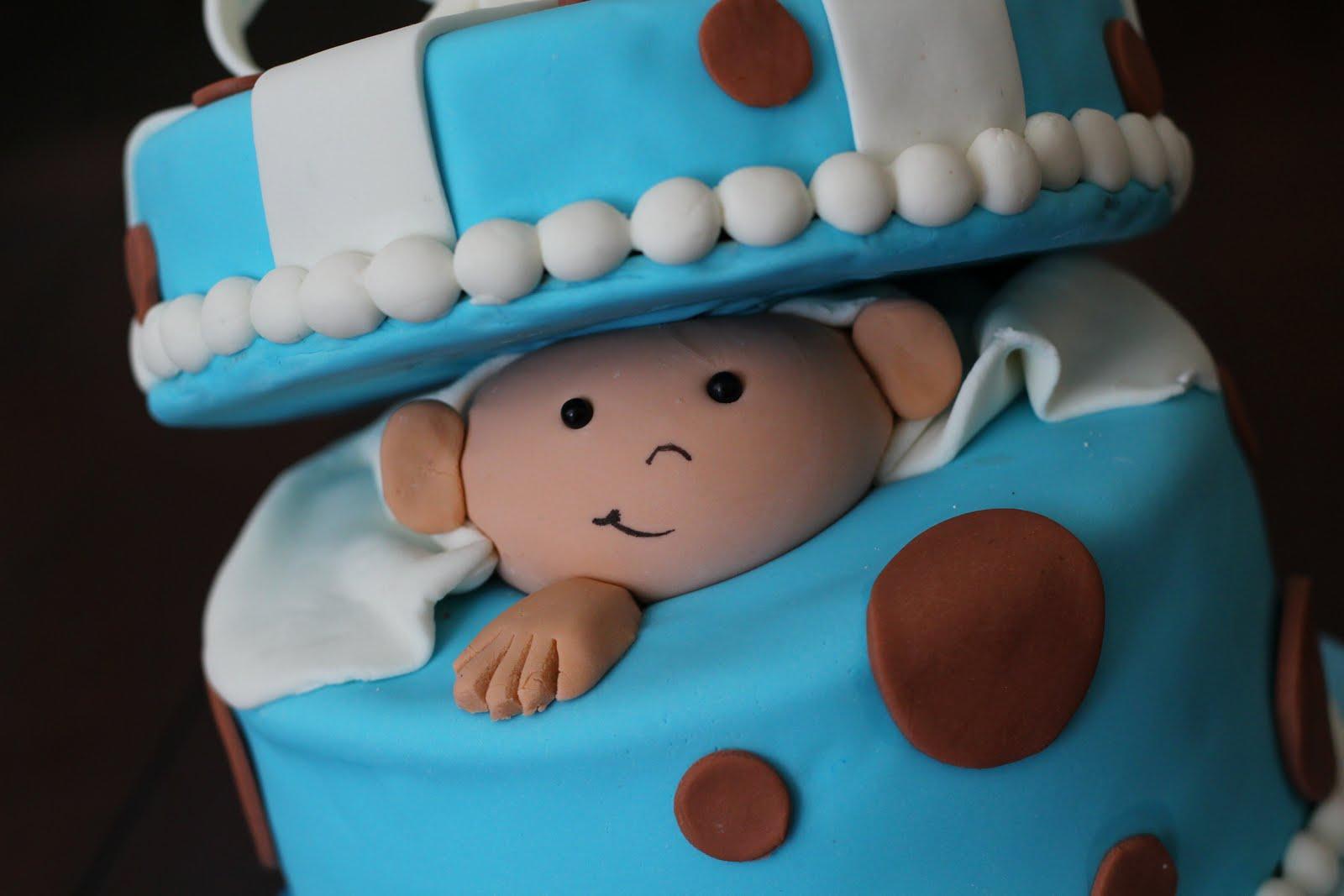 Sweet Cakes Honey Buns Polka Dot Baby Boy
