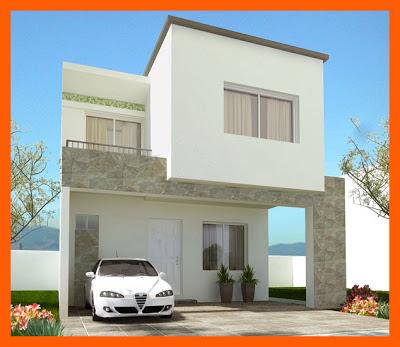 Fachadas de casas modernas junio 2013 - Casas blancas modernas ...