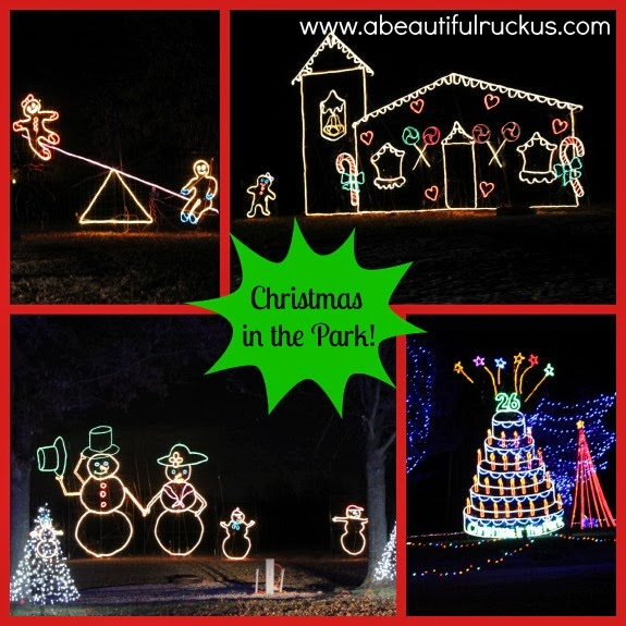 A beautiful ruckus thanksgiving eve with friends christmas lights just try to imagine a park that is filled with moving christmas light displaysokay you might just have to come visit and see it yourself solutioingenieria Images