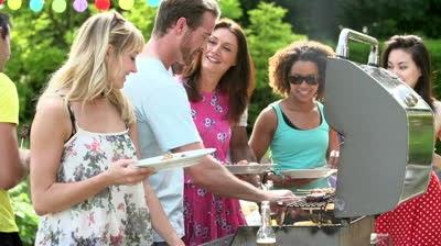 egészséges táplálkozás, saláta, piknik, sütögetés, kerti party