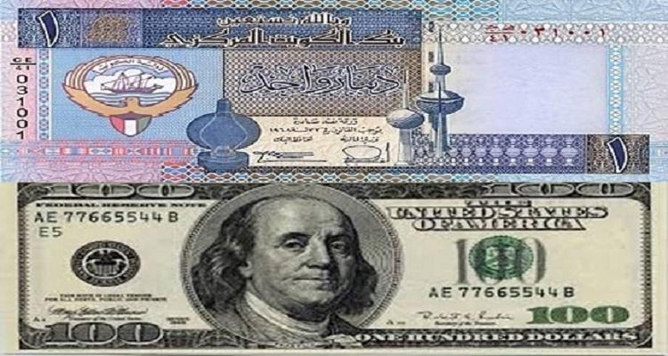 سعر الدولار في الكويت اليوم الخميس 28-1-2016