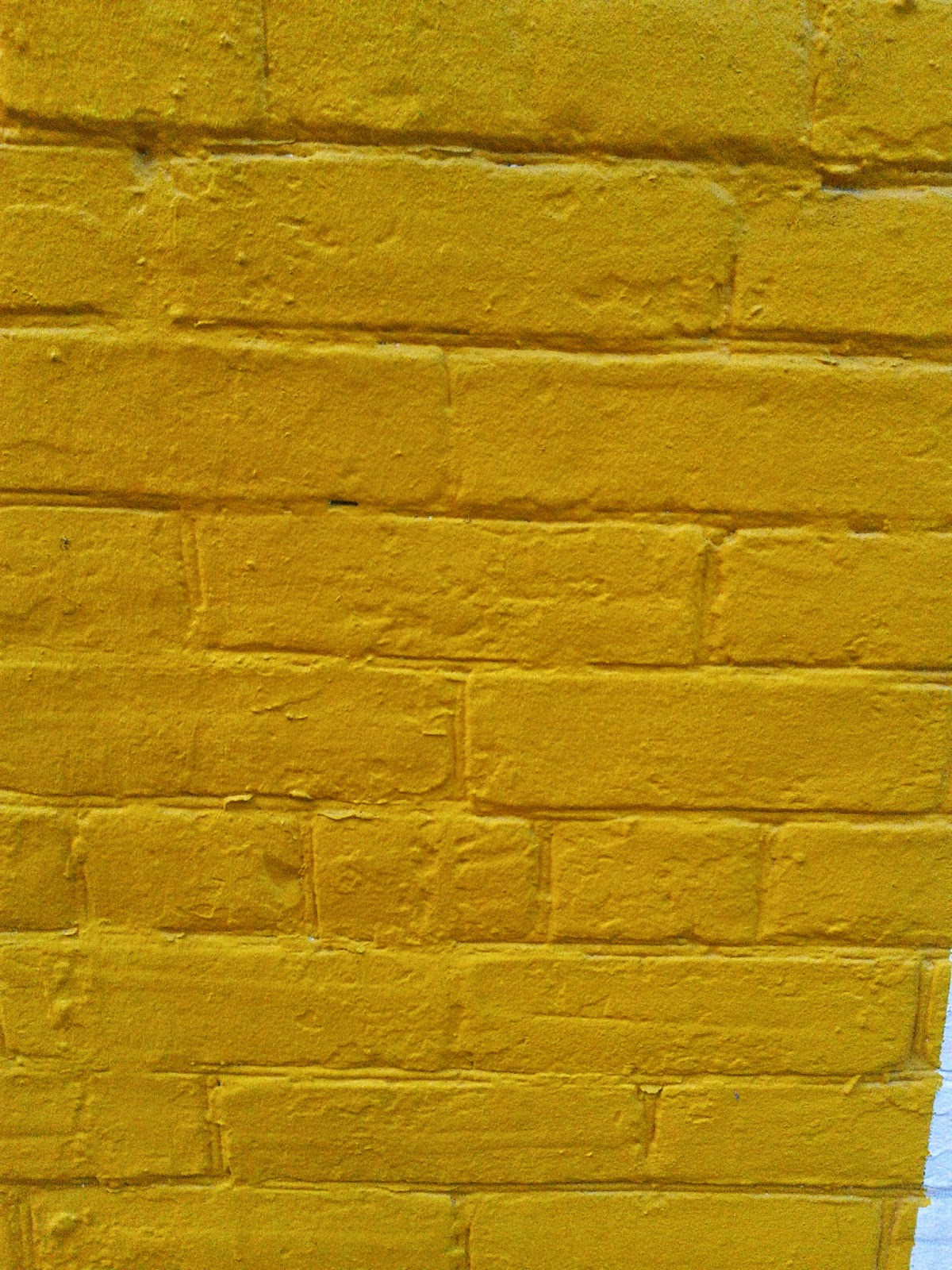 Stock photo: Yellow bricks (wall)