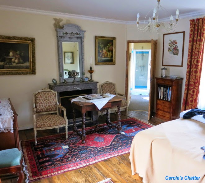Our room Chateau du Lannuguy – Morlaix in Brittany