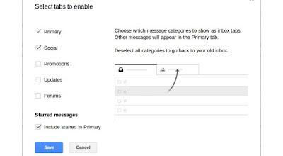 Cara Merubah Tampilan Tab Inbox Gmail