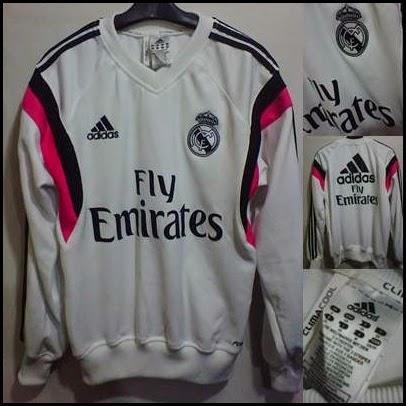 Sweater GO Madrid Putih Pink 2015