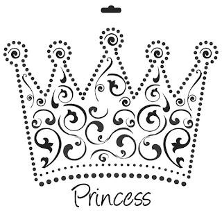 Moldes de coroas de reis, rainhas e princesas!