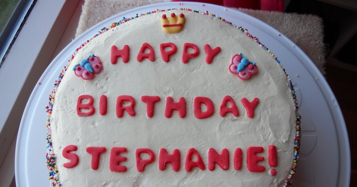 Shove It In Your Face Birthday Cake For Stephanie