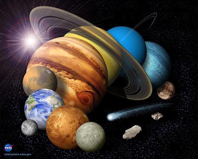 NASA Space art wallpaper
