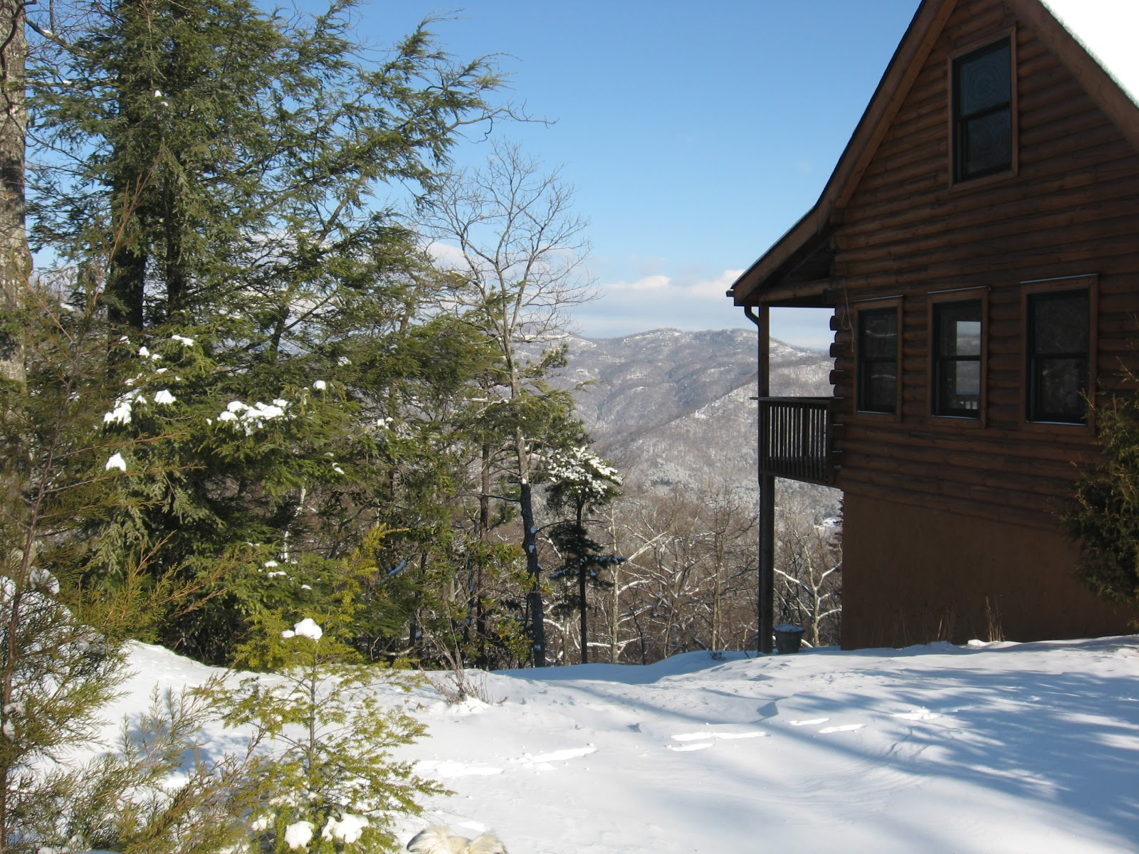 Nc Mountains Log Cabin Vacation Rental Ridgecrest View