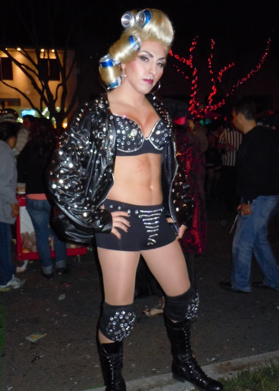 Lady Gaga costume West Hollywood Halloween