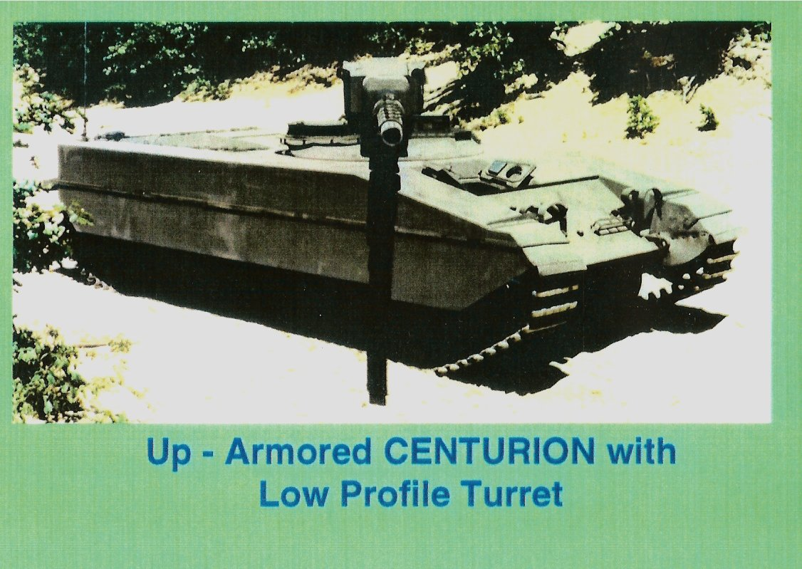 The Tank And Afv Blog Centurion With Teledyne Quot Low