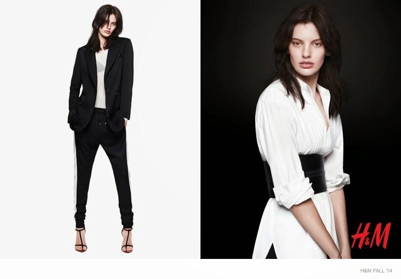 H&M Fashion Statement Campaign 2014 featuring Amanda Murphy
