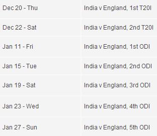 Ind vs engl t20 live