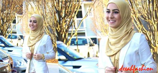 Jilbab Praktis Untuk Ke Kantor Office Chic