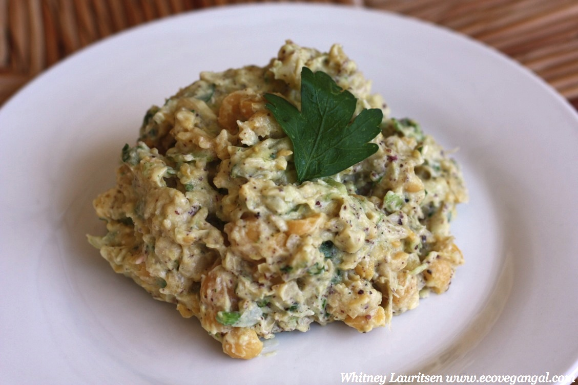 Veggie Overload Chickpea Salad Recipe — Dishmaps