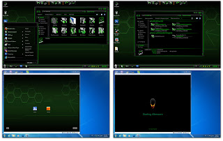 Green Alienware Skin Pack 3.0