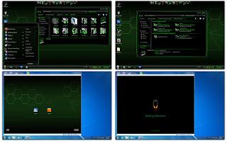 Green Alienware Skin Pack 3.0