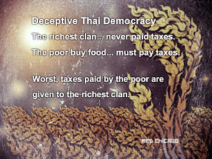 Deceptive Thai Democracy, The richest clan... never paid taxes.