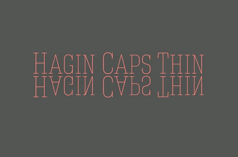 tipografías Thin gratuitas