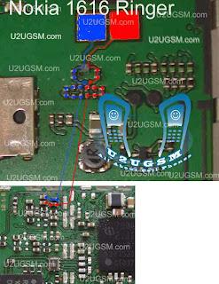 Nokia 1616 Speaker and Ringer Solution