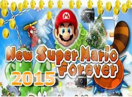 غلاف لعبة سوبر ماريو الجديدة 2015 New Super Mario Forever