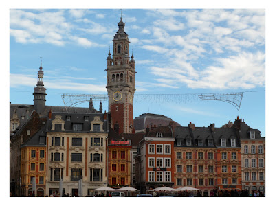 Grand Place main square in Lille, France