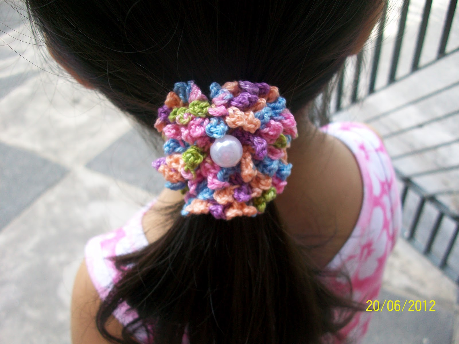 Crochet Hair Accessories Video : Girlies Crochet: Hair Accessories Crochet