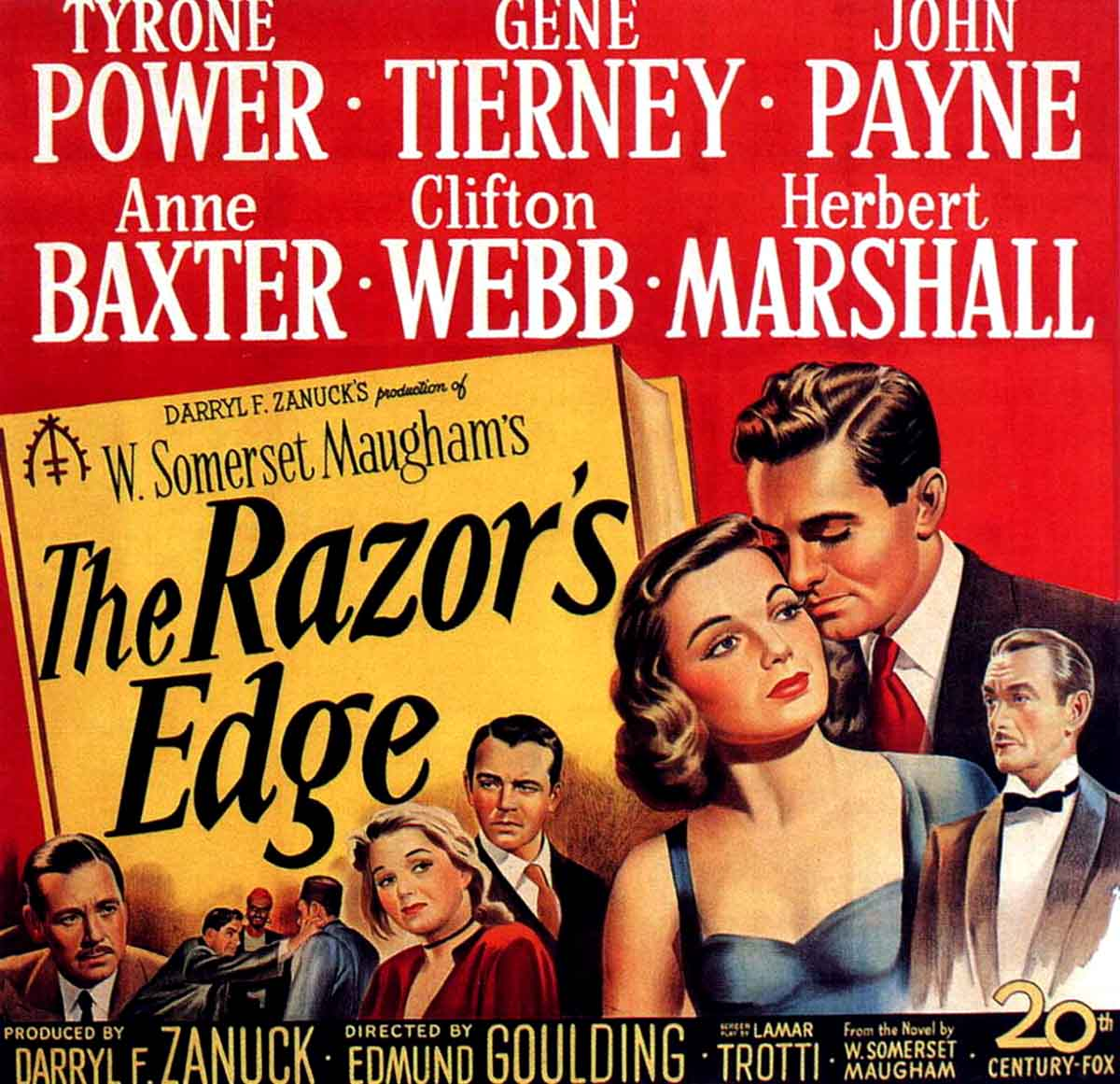 Happyotter: THE RAZOR'S EDGE (1946)