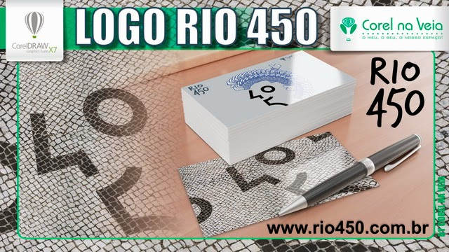 Logotipo Rio 450 Anos E Viva a Carioquice!