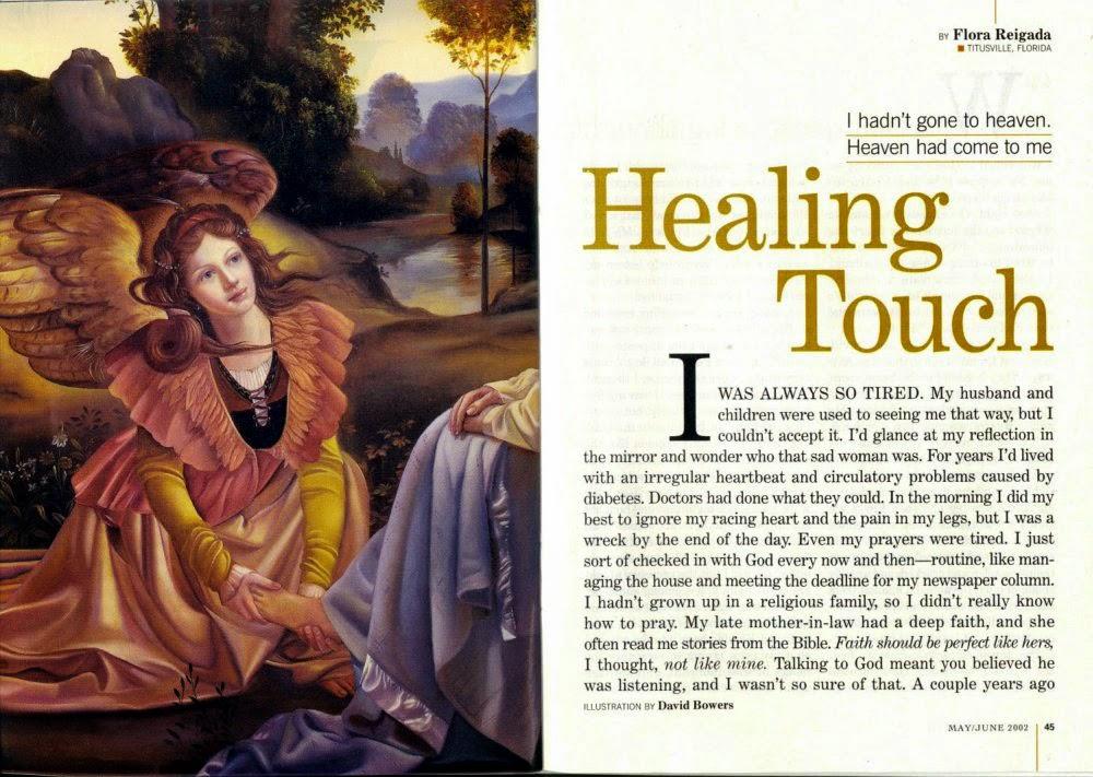 Healing Touch by Flora Reigada