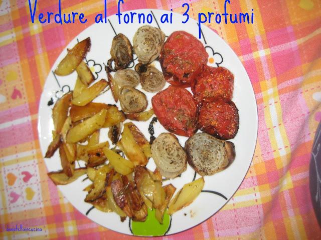 verdure al forno ai 3 profumi