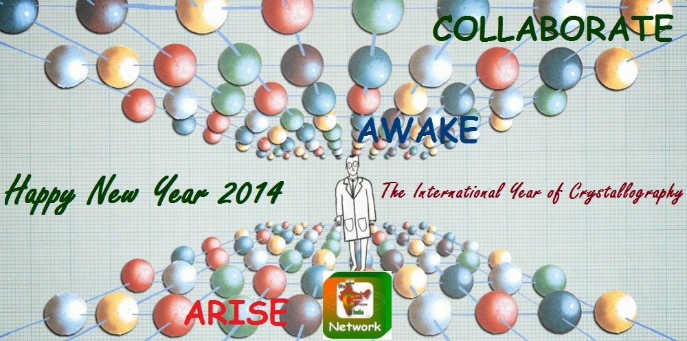 india happy new year 2014 from we can control corrosion in india network arise awake and collaborate like crystals